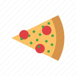 bakery, cheese, food, italian, pizza, sausage, slice icon