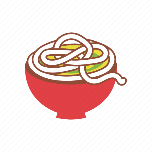 bowl, food, noodles, oriental, ramen, spaghetti, udon icon