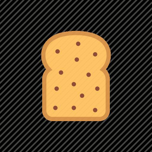 bakery, bread, breakfast, food, meal, toast, wheat icon