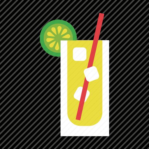 beverage, drink, food, juice, lemon, lemonade, orange icon