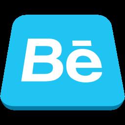 audio, behance, logo, media, music, video icon