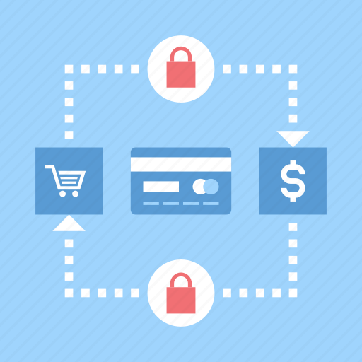 banking, commerce, protection, safe, security, shopping, transaction icon