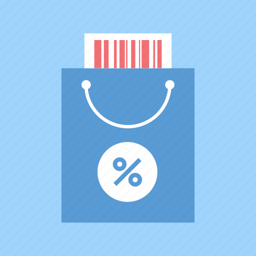 bag, buy, commerce, discount, ecommerce, retail, shopping icon