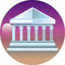 athenian acropolis, country, greece, parthenon, travel icon