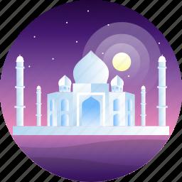 agra, country, india, maj mahal, travel icon
