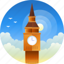 big ben, country, england, london, travel