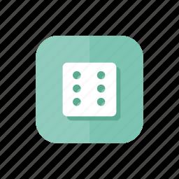 casino, dice, gamble, gambling, game, luck, play icon