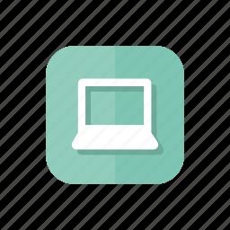 computer, laptop, macbook, pc icon