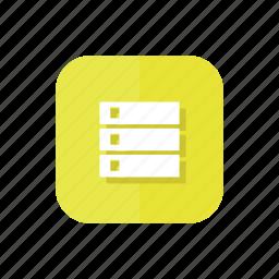 checklist, feed, group, list, playlist, tasks icon
