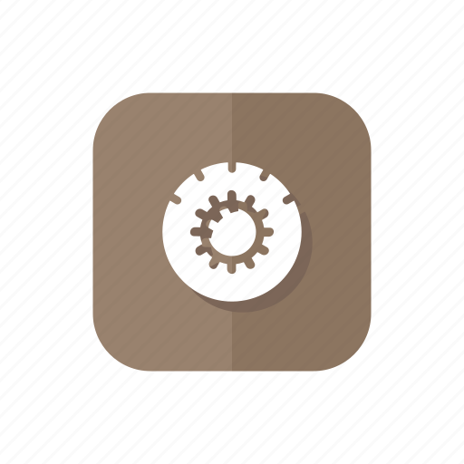 engine, gear, options, settings icon