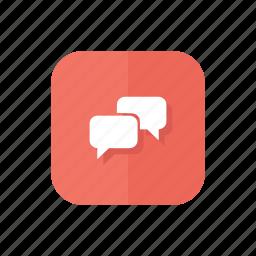 bubble, comment, comments, message, messages, talk icon