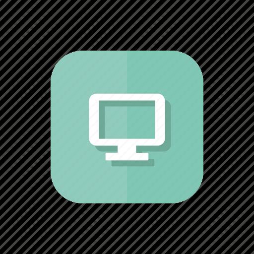computer, macbook, monitor, pc, screen icon