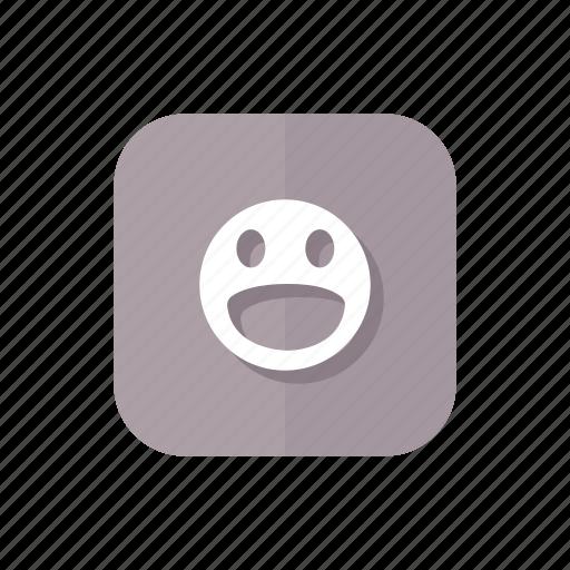 emoticon, favorite, happy, like, smile icon