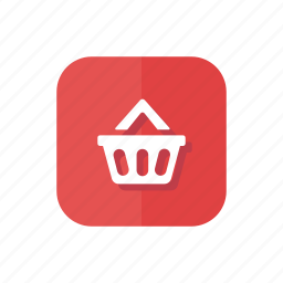 bag, basket, shipping, shopping, shopping basket icon