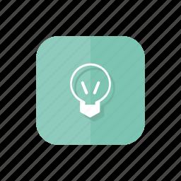 bulb, lamp, light, light bulb icon