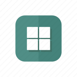 gallery, grid, group, thumbnails, thumbs, window icon