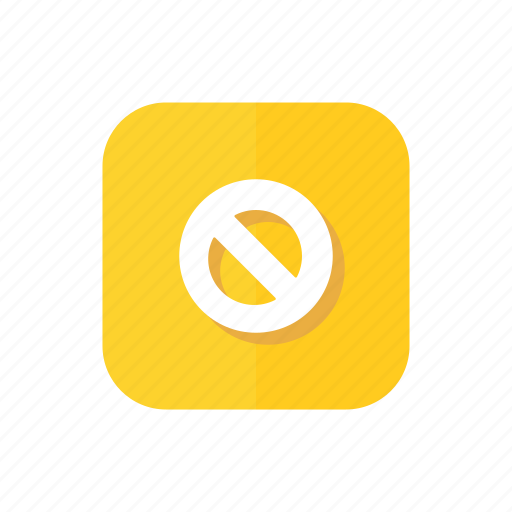 empty, filter, no, stop, wrong icon
