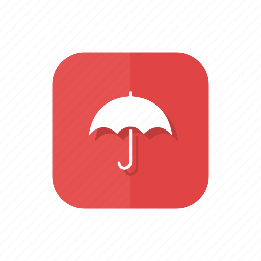 insurance, protection, rainy, umbrella, weather icon