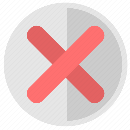 cancel, close, delete, operation icon