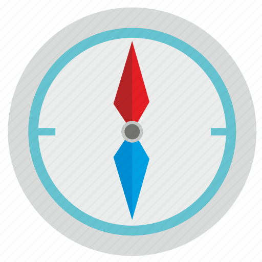 compass, device, location, navigation icon