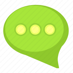 comment, dialog, message, text icon