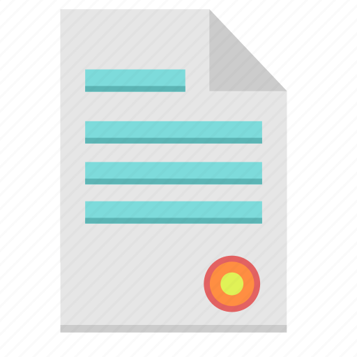 doc, document, file, paper, sign icon