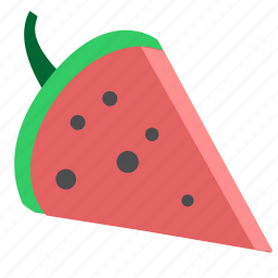 eat, food, slice, watermelon icon