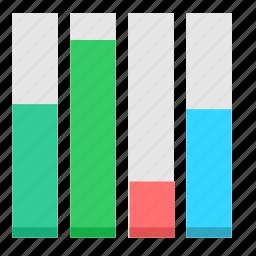 chart, economic, graphic, report icon