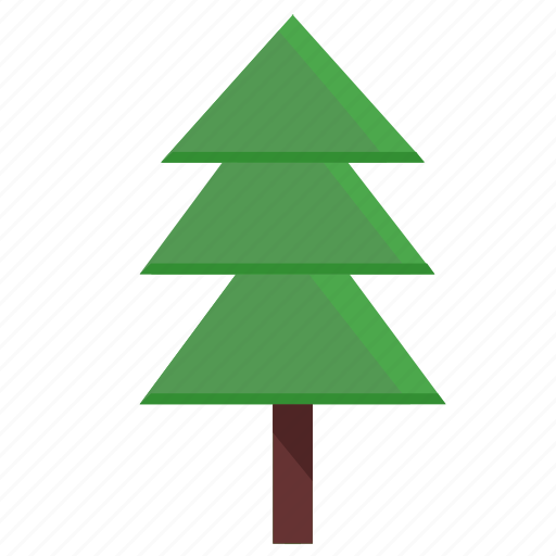 eco, fir, forest, nature, poi, tree icon