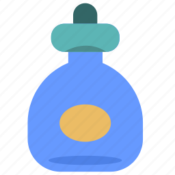 bottle, drink, fluid, product, water icon
