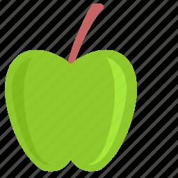 apple, eat, food, fruit, vitamin icon