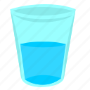 drink, fluid, glass, mineral, water icon