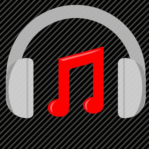 device, headphones, music, sound icon