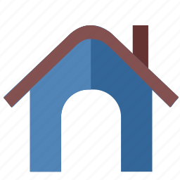 building, door, home, house, poi icon