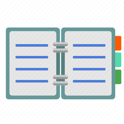 book, days, office, open, plan icon