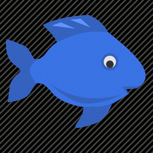 fish, ocean, ornamental, sea icon