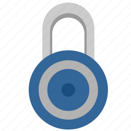 access, closed, lock, padlock, safety, security icon