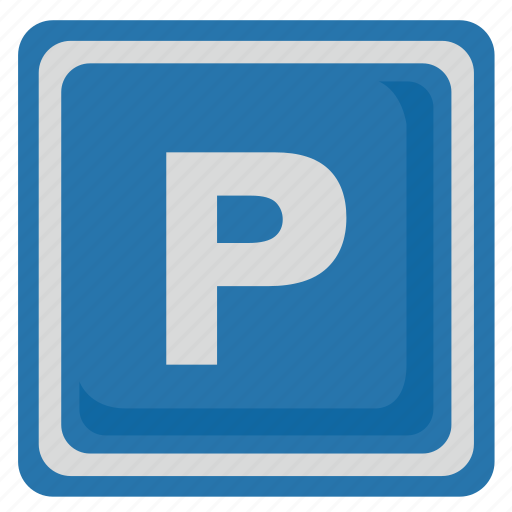 car, p, parking, poi, road, sign, transport icon