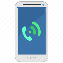 call, dial, phone, ring, smartphone icon