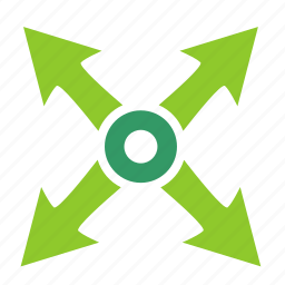 full, motion, object, resize, size icon