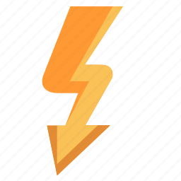 electric, rock, shock, storm icon