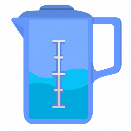 dishes, drink, glass, pot, tea, water icon