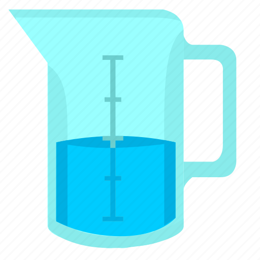 fluid, test, tube, water icon