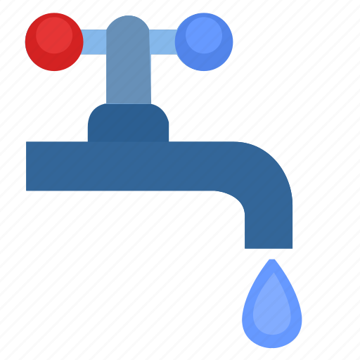 home, supply, tap, toilet, water icon