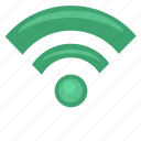 free, internet, label, poi, wifi icon