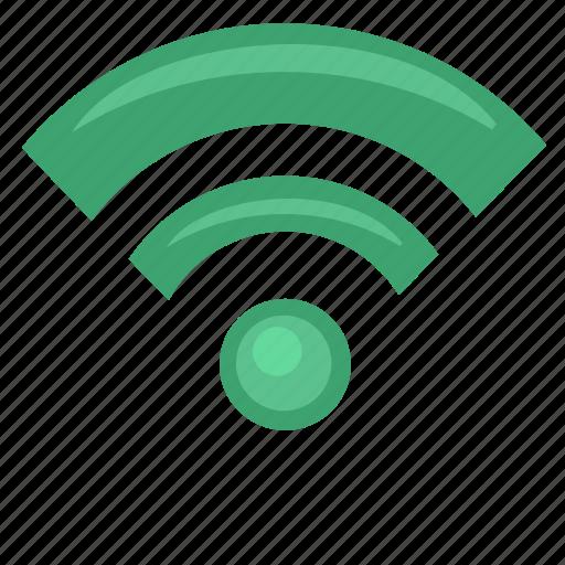 free, internet, label, poi, wifi icon