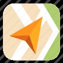 catalog, city, maps, navigation, streets, yandex icon
