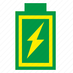 battery, charge, element, energy, level, mobile icon