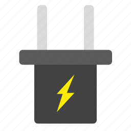 cable, charge, data, device, electricity, mobile, port icon