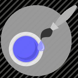 brush, choose, color, drop, instrument, paint icon